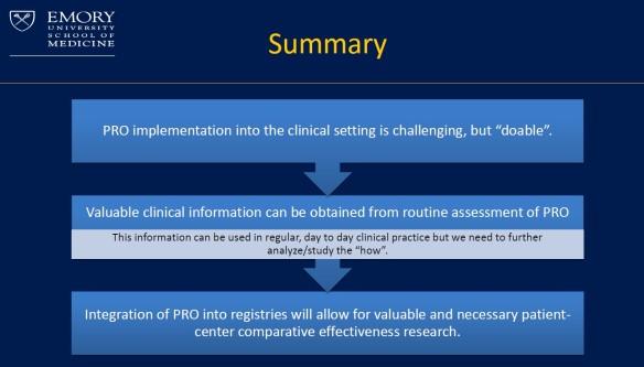 PRO summary slide